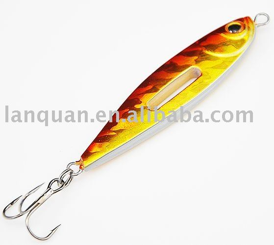 LANQUAN hot high quality artificial lead lure-EMPTY HAMMER hard Fishing lure accept pay-pal