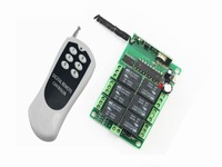DC12V/24V wireless remote control switch 6-channel YET406PC and YET112D