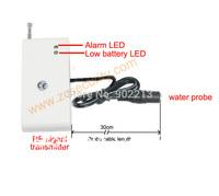 CE met wireless water leak sensor