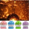 Wholesale Free Shipping New Arrival Dream Twilight Rotating Projection Luminous Lamp