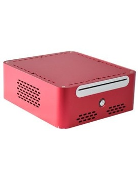 Mini-ITX  CASE,Full aluminum alloy (silver, black optional) /DC-ATX PSU/support 3.5 or 2.5 HDD/5.25 ODD
