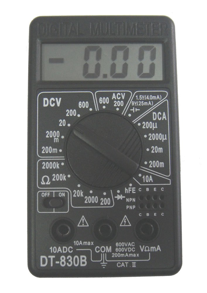 LCD Digital Voltmeter Ammeter Ohm Multimeter(China (Mainland))