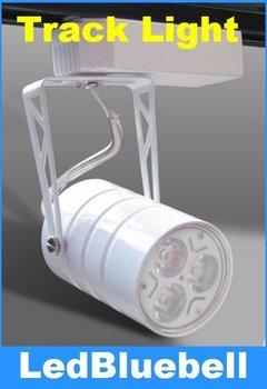 Wholesale 6pcs/lot, 3w AC110V LED Track Light /Stand Lamp/Commerical Spotlight