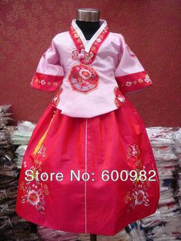 Fedex/EMS Free Shipping Wholesale Children's Chinese Style Cheongsam Kimono Dress,Girl's Princess Dresses,Kid's Perform Customes