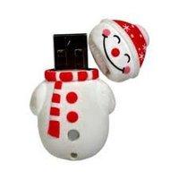 Free Shipping 1GB 2GB 4GB 8GB 16GB Christmas USB drive card (MOQ 30PCS)
