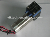 air pump DA40DCB, max pressure 1.2bar, max vacuum -70kpa, free flow 2.5l/m, voltage DC,brushless type lifetime over 10000 hours