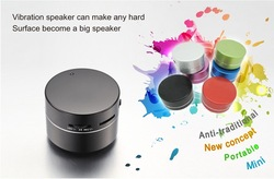 2012 new arrival vibration speaker orginal Dwarf Rock , Dwarf 360 Omni-Directional Vibration Resonance speaker for free gift(China (Mainland))