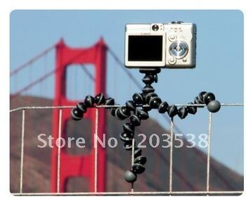 Free shipping Medium Size Mini Gorillapod Type Flexible Ball octopus Leg Mini Digital Camera Tripod Flexible Tripod 1pcs/lot