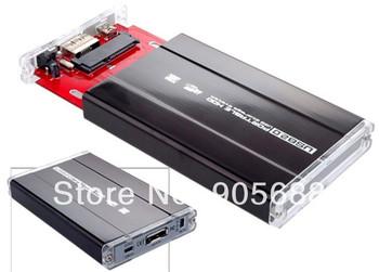 "30set/lot Hard Drive Disk HDD Case Enclosure Caddy 2.5"" USB SATA"