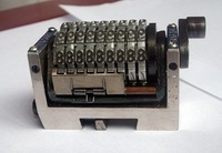 9digit numbering machine