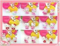 Sanrio girl kid Hello Kitty Accessories ear pendant CLIP earring earrings LOT  5pairs