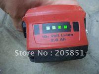 HILTI 21.6V 22V B18/2.6 B22/2.6 CPC LI-ION BATTERY 2.6Ah FOR SF SFH SID SIW WSR SCW TE4 18-A 22-A SD4500 HDE 500-A18