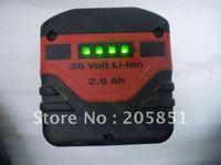 GENUINE HILTI 36V 2.6Ah CPC B 36/2.6 LI-ION BATTERY for TE 6-A