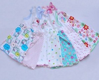 10% OFF! Cute CARTER'S baby dress girls' skirt baby clothing 100% cotton several colors for 3-18 months Free shipping