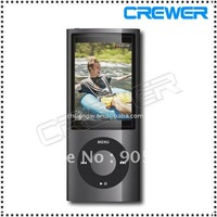 Slim 1.8'' 4th gen 8GB 9Colors for choose mp3  mp4 player  fm radio ebook video player
