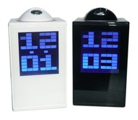 Digital Led Projector Time Alarm Clock, Digital Projector Ray LED Alarm Clock Time Projection