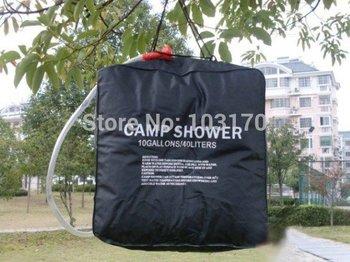 40 L/10 Gallons PVC UV-resistant Solar shower water bag