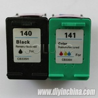 Wholesale Inkjet Cartridges for HP 140/CB335H Black for HP 141/CB337HE Color for HP OfficeJet 5700/D4260 Printer Ink Cartridges