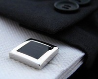 Black square style Shirt cuff Cufflinks cuff links  drop shipping for men's gift
