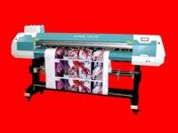 china outdoor ECOsolvent printer/farices adhesive vinyl meaia printing machine/