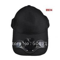 Solar Cap/Solar Fan/sunbonnet High quality cotton cap/hat 2V/80mA