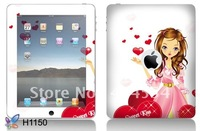 New Arrival!Laptop PVC Skin Sticker Laptop Cover Both Back and Side 100pcs