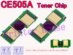 CE505A CE505 505 05A toner chip for HP LaserJet P2030/2035/2050/2055(CE505A toner cartridge chip)(China (Mainland))