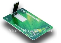 custom bank card usb flash drive business card usb memory sticks+custom logo free+EMS free!