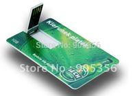 custom bank card usb flash drive business card usb memory sticks+custom logo free+EMS free!