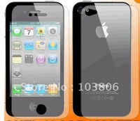 Free shipping Full Body Screen Protector For iPhone 4 4G Front+Back free shipping  DHL.UK POST.USPS.3-10 days to arrive