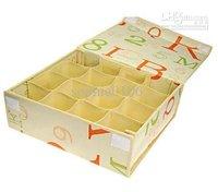 case with cover HOT underwear storage box Organizer Holder Box Closet makeup storage box saving
