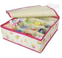 bags cases underwear storage box Organizer Holder Box Closet saving case Best selling storage