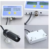 Aquarium Electronic Salinity & Ph Monitor meter 2 in 1