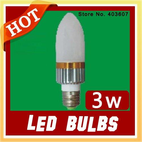 Wholesale led bulb High Power led lamp white 3W Aluminum led bulb LED Light Lamp DH-068 wholesale