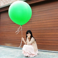 36 Inch Colorful Flat Latex Balloon