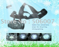 Led Headlight,Led Headlamp,Front Light With 8 LED,Shock Resistant+Free Shipping