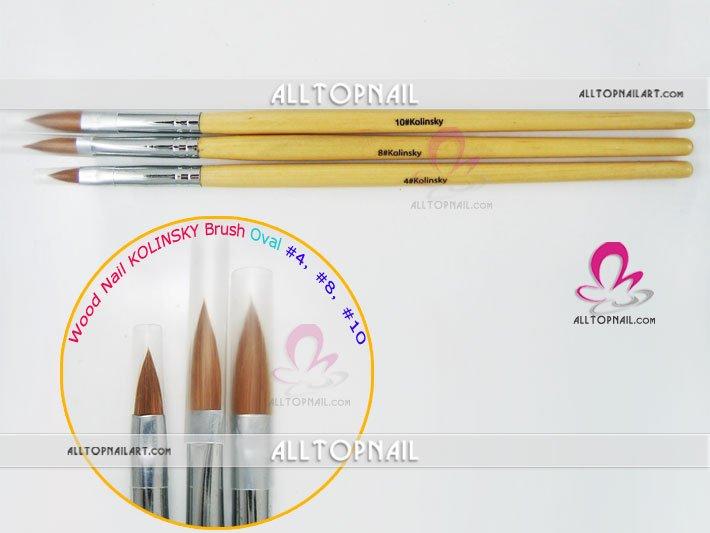 Wholesale 100% Kolinsky Nail Art brush use in nail art designs, 50pcs/lot(China (Mainland))