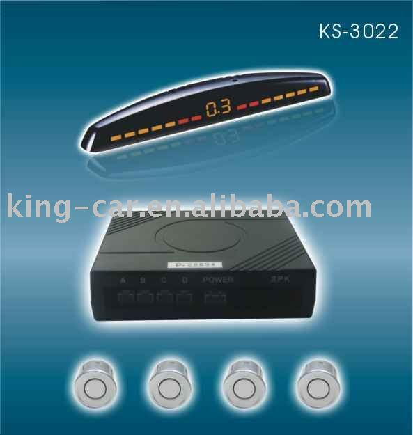 parking sensor KS-3022 LED display(China (Mainland))