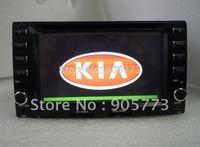 KIA Cerato car stereo with GPS, TV, Bluetooth, IPOD, Radio, touch screen,dual zone,steering wheel contro,free map