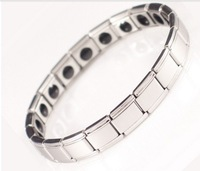 Fiber Magnetic Health Bracelet,president 20 stones, stainless less,germanium bracelet.power bracelet manget