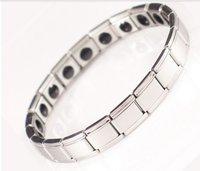 Fiber Magnetic Health Bracelet,president 20 stones, stainless less,germanium bracelet.power bracelet manget