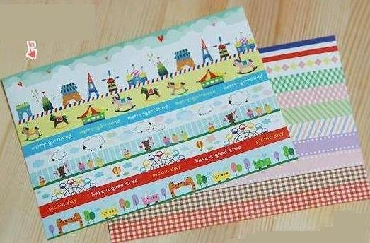Wholesale Free Shipping Hot line Sticker 2 sheets per set(China (Mainland))
