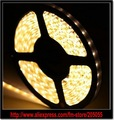 600 Leds 16.4FT Warm White 5M 3528 SMD Flexible LED Strip Light 120Leds/M