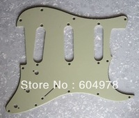 New 2011 Factory price Right hand high quality new 3S mint green Pickguard for STRAT guitar