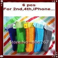 6x Sock Case for Apple Ipod I-Pod Nano 2nd 2 4 gen 4th 4G