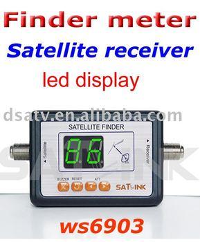 2012 satellite meter  SatLink Digital Displaying Satellite Finder Meter WS 6903