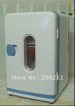 guaranteed 100%,Mini Portable CAR&HOME Fridge (12L)---Portable  Refrigerator,Side Door Car Fridge