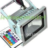 10W high power RGB Remote Control Flood Light Projector Wall Wash Light
