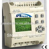 programmable logic controller   AF-10MR-D +AF- LCD +AF- DUSB cable,with free software ,FBD (Function Block Diagram)
