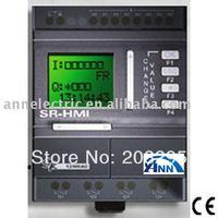 mini PLC  SR-12MRAC AC110-220V,8 point AC input,4 point relay output+ SR-HMI+ SR-DUSB cable